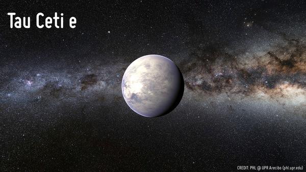 الكوكب Tau Ceti e