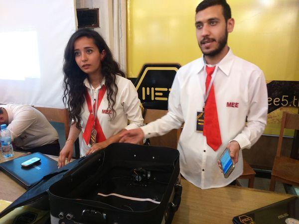 حقيبة سفر ذكية Smart Suitcase