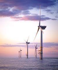 صورة مجاملة، General Electric Company مزرعة الرياح راهينليق Raheenleagh أيرلندا