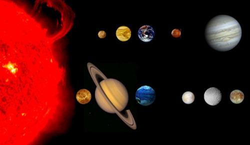 الشمس هي مركز نظامنا الشمسي