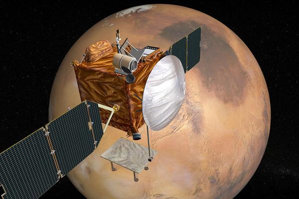 مركبة المريخ المدارية للاتصالات اللاسلكية Mars Telecommunications Orbiter