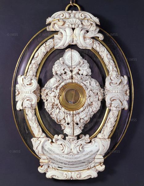غاليليو غاليلي (1564-1642) عدسة شيئية، بادوفا، نهايات 1609 فلورنسا، معهد ومتحف تاريخ العلوم، العنصر 2429