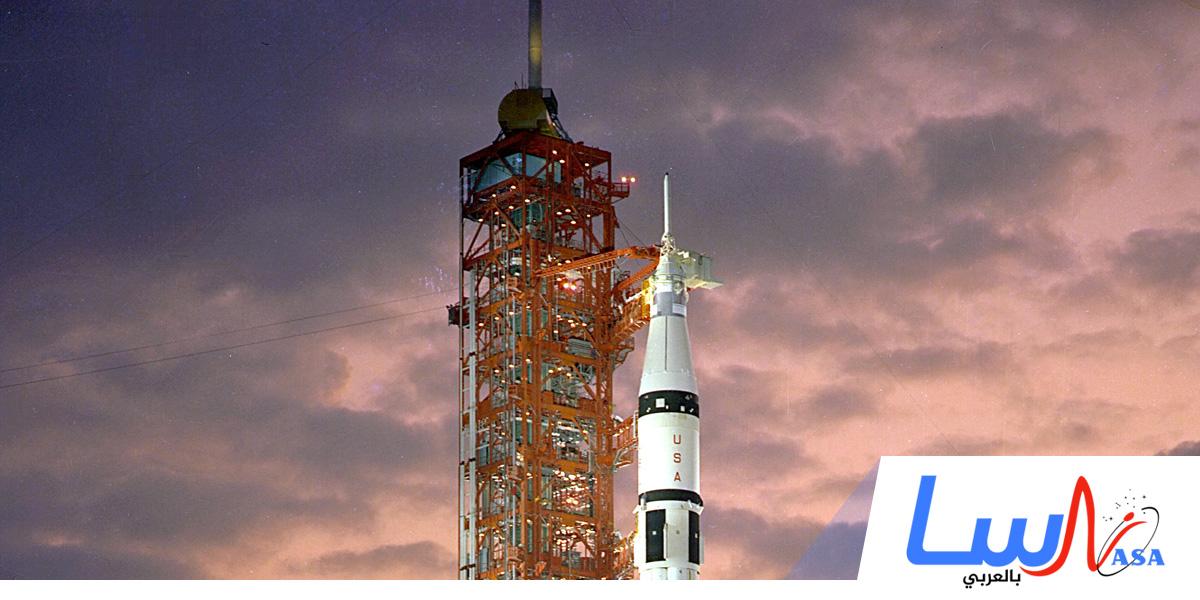 وكالة ناسا تطلق صاروخ الفضاء