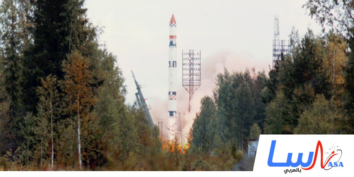 الاتحاد السوفييتي يطلق الصاروخ الفضائي