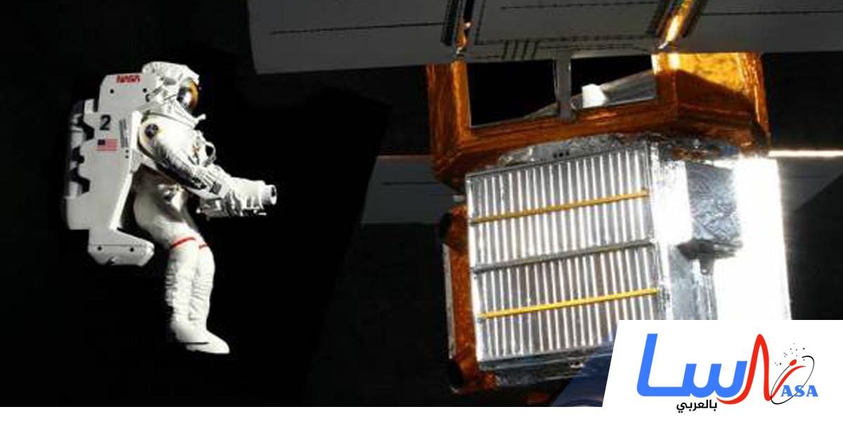 أول عمليةإصلاح لقمر صناعي
