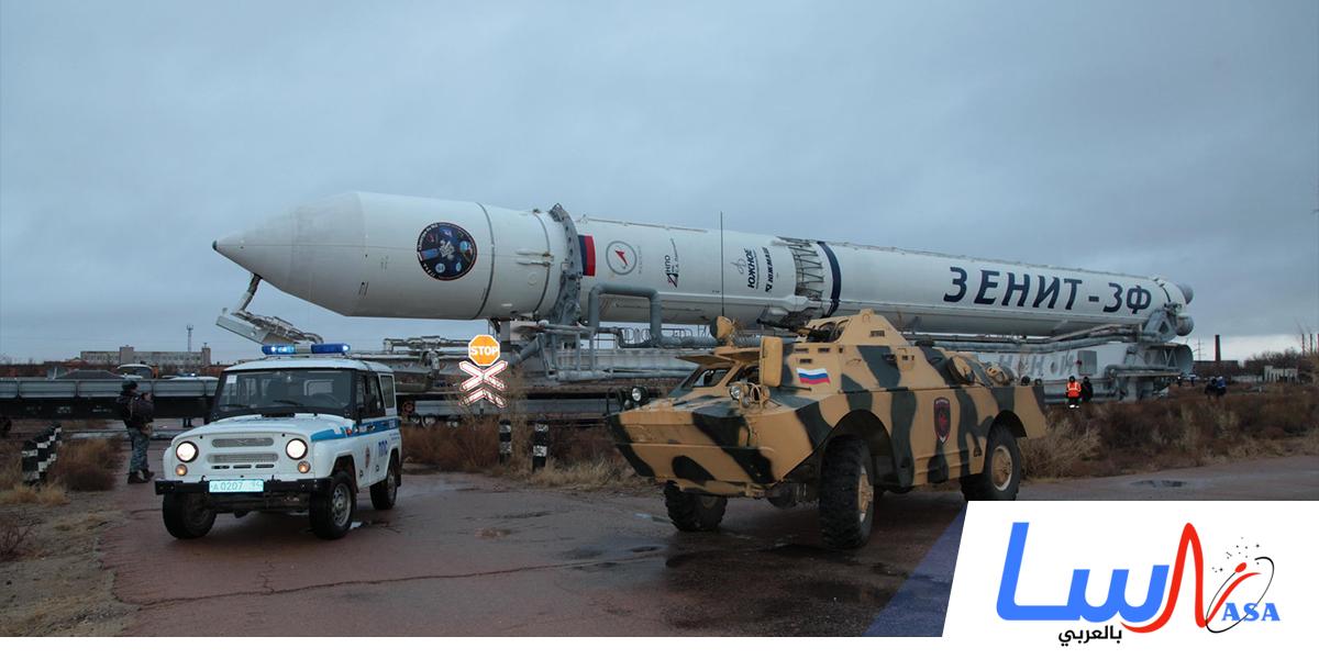 روسيا تطلق صاروخ الفضاء