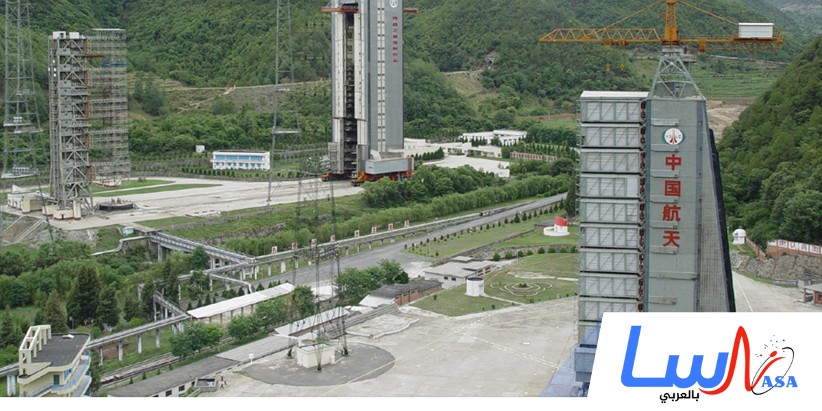الصين تطلق صاروخ الفضاء