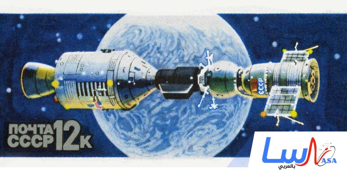 انطلاق المركبة الفضائية المأهولة