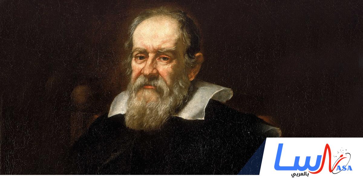 غاليليو يكتشف أربعة أقمار لكوكب المشتري
