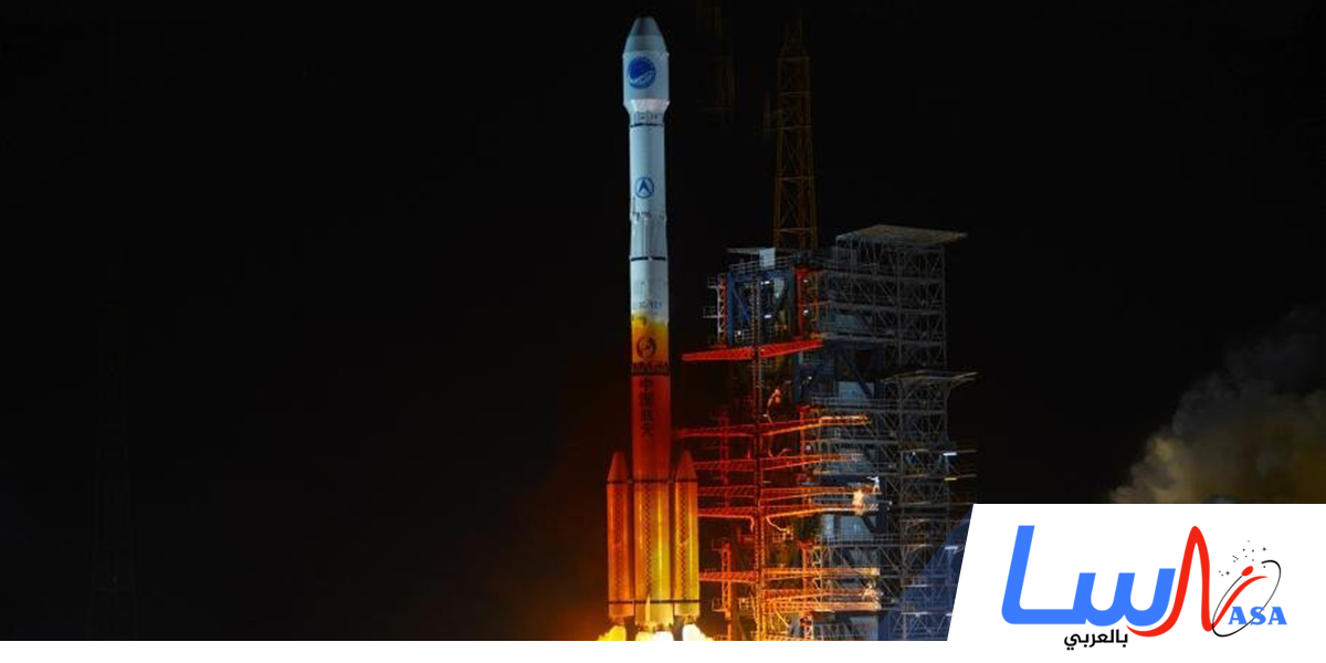 انطلاق القمر الصناعي