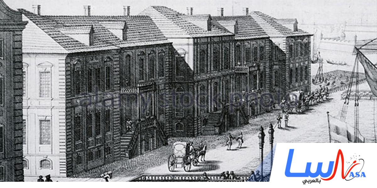 تأسيس أكاديمية سان بطرس بورغ للعلوم