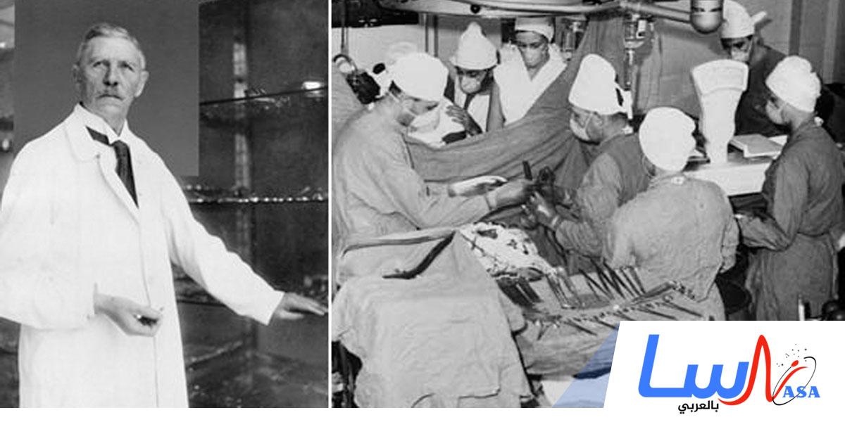 الطبيب لودفيغ رين يجري أول عملية جراحية ناجحة لقلب إنسان