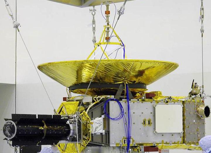 صورة تُوضح هيكل المركبة الفضائية. حقوق الصورة: ناسا