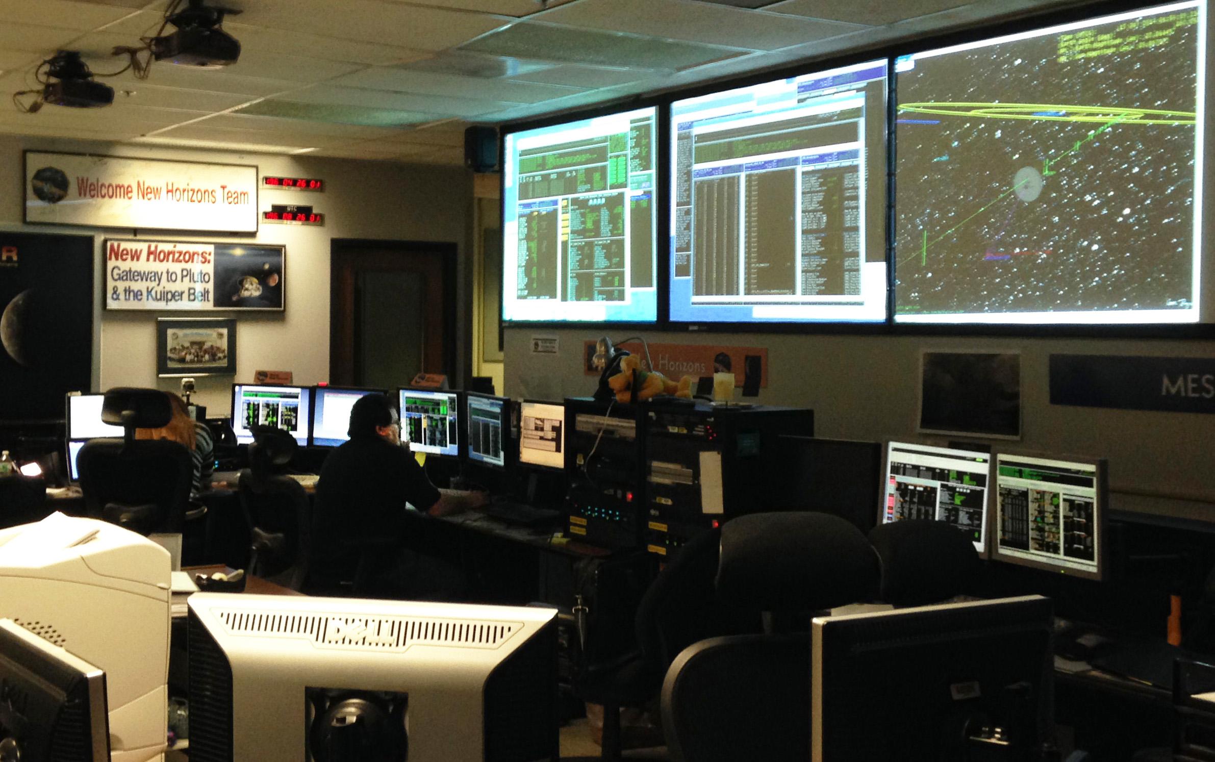 صورة لمركز نظام جمع البيانات الكوكبية. حقوق الصورة: ناسا