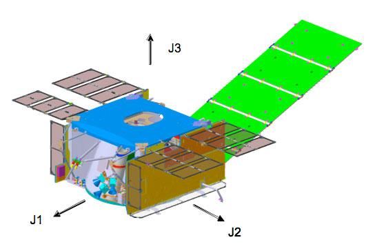حافلة المركبة الفضائية. حقوق الصورة: ناسا