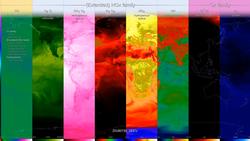 دراسات ناسا حول تأثير إغلاقات الكوفيد-19 على الانبعاثات