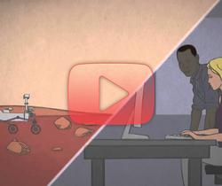 المريخ في دقيقة، كيف تُقَادُ المركبات الفضائية على سطح المريخ؟