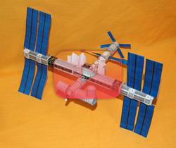 كيف تبني محطة فضاء؟