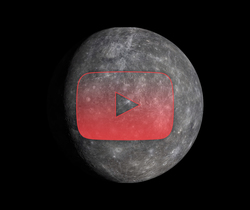 كوكب عطارد بعدسات ماسنجر