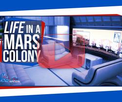 الحياة في مستعمرة المريخ
