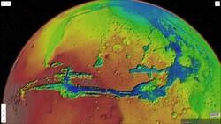 الأخدود العظيم للأرض وللمريخ