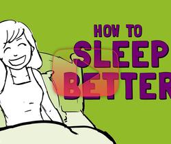 كيف تنام بشكل أفضل