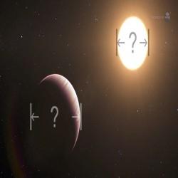 قياس حجم كوكب خارجي