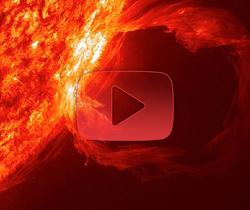 في سابقة لمهمة IRIS: رصد ثوران عملاق لمواد شمسية
